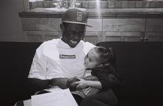 I love this. So cute. Tyler, the Creator and Chloe Clancy.