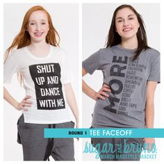 The Tee battle is a close one! Who will win in Shut Up and Dance With Me vs. More!