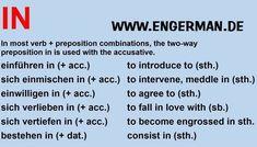 Study German, Learn German, German English, German Grammar, German Words, German Language Learning, Language Study, Grammar And Vocabulary, English Vocabulary Words
