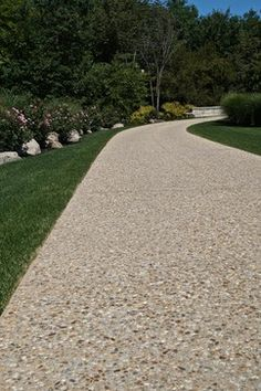 Exposed Aggregate Driveways | Triad Associates http://bit.ly/1e0fsGt