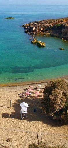 Agioi Apostoloi beach in Chania, Crete