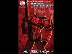 IDW Transformers Autocracy Comic Review