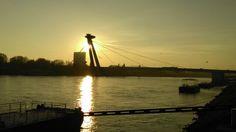 Most SNP Bratislava, Celestial, Sunset, Outdoor, Outdoors, Sunsets, Outdoor Games, The Great Outdoors, The Sunset