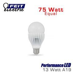 FEIT PerformanceLED 13 Watt A21 Omni-Directional Dimmable 75 Watt Replacement