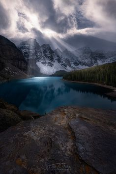 Moraines Mood by Ted Gore on 500px