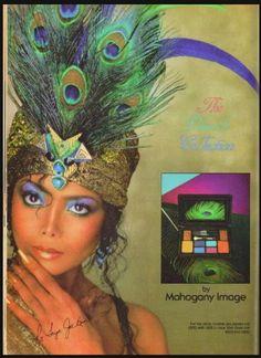 LATOYA JACKSON FOR MAHOGANY IMAGE COSMETICS I985