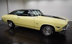 1968 Chevrolet Chevelle:  with 2 doors and black color inside and yolk inside Powerglide automatic transmission, mileage of 14,103 miles and a Small Block Chevy V8 engine with 15-inch wheels; Numbers wine used: 136378K229773 and numbers do not match.  This vehicle is available for sale, please contact us on: www.misterdeals.com / or call us on: 08-05-08-02-81 if this vehicle you are interested.  Our prices are: 17,000 euros.