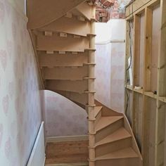 Square Spiral Stairs | Inspiraling Stair Systems - Spiral Staircases, Space Saving