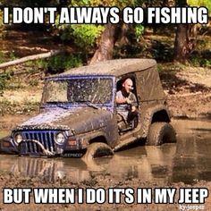 jeep fishing...