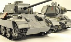 Panther and T-34-76 by dmaclego