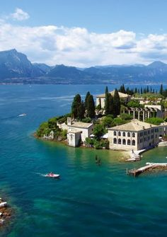 Lake Garda lake in Italy: province of Brescia Lombardy