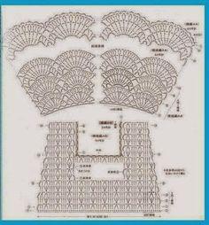 Relasé: Schema del vestito all'uncinetto per bambina