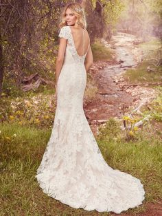 """""""Hudson"""" in ivory, sample size 10 also available with a short slip as """"Hudson Marie"""""""