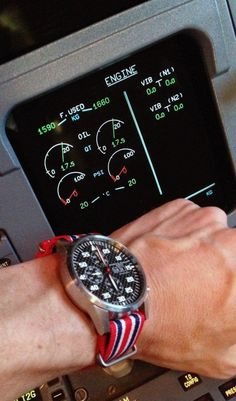 Amazing timepiece by Maurice de Mauriac with the Union Jack Nato strap.
