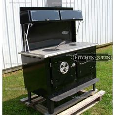 Kitchen Queen 380, Wood cook stove, wood cooking stove