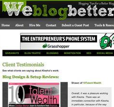 """The """"Hire Me"""" link on your website or blog is not enough to attract new clients and keep your writing business going. Find out how to create a client testimonials page that attracts new clients."""