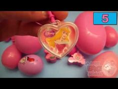 Learn Colours with Surprise Eggs! PINK!