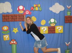 imagines chapadas p adesivar sobre o vidro -   Super Mario Brothers Photo Booth Props Decor by LMPhotoProps