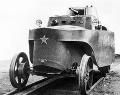 BAD-2 Armored fighting vehicle (rail, amphibious) by kitchener.lord, via Flickr, pin by Paolo Marzioli