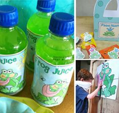 Frog Birthday Party : Parties and Patterns, Fun ideas grow here!