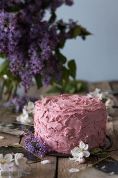 Modern Taste: Chocolate Cake with Raspberry Swiss Meringue Buttercream