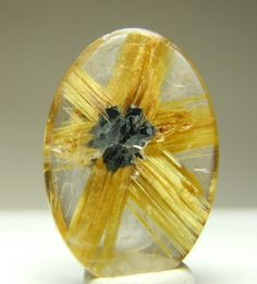 Perfect Star Rutile in Quartz.
