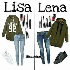 What would you choose ? Lisa or Lena? I would choose Lisa! Follow me for me Lisa vs. Lena pins!