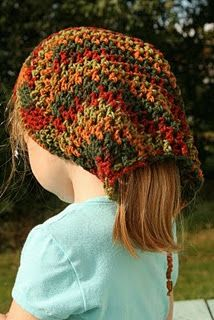 "Crochet Stuff Bears Patterns Head Huggers by Valerie Whitten. An alternative for those ""with a lot of hair to wear under a hat. Crochet Cap, Crochet Beanie, Love Crochet, Crochet Scarves, Crochet For Kids, Crochet Clothes, Knitted Hats, Booties Crochet, Crochet Crafts"