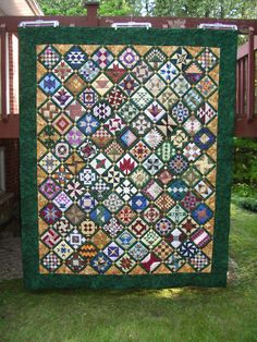 Farmer's Wife Sampler Quilt by QuiltE on http://www.quiltingboard.com  the best quilt forum around.