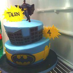 Batman kids cake