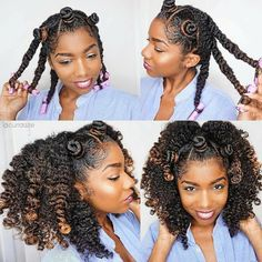 Weekend hair inspiration💞 I did this easy Bantu knot twistout using 2 super moisturizing products from that left my hair so… Pelo Natural, Natural Hair Tips, Natural Hair Inspiration, Braid Out Natural Hair, Natural Curls, Natural Hair Tutorials, My Hairstyle, Twist Hairstyles, Natural Twist Out Hairstyles