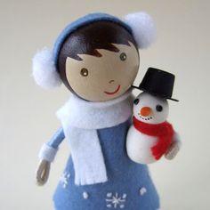 wee cute treasures: Snowflakes and Snowman