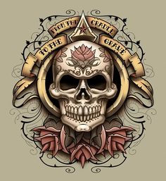 Browse Skull pictures, photos, images, GIFs, and videos on Photobucket Skull Tattoo Design, Skull Design, Skull Tattoos, New Tattoos, Tatoos, Tattoo Designs, Body Tattoos, Chicanas Tattoo, Skull Pictures