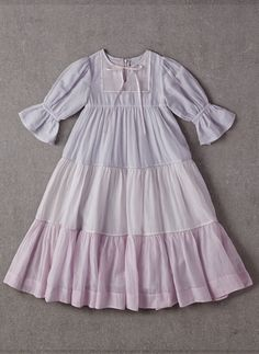 Nellystella LOVE Adina Dress in Multicolor Light – Hello Alyss - Designer Children's Fashion Boutique Little Girl Outfits, Kids Outfits, Hijab Evening Dress, Dress Anak, Baby Dress Patterns, Frocks For Girls, Frock Design, Sweet Dress, Baby Girl Dresses