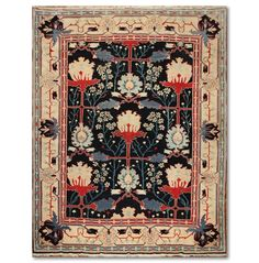 9x12 Rare Find William Morris Arts & Crafts Handmade Real Turkish Area Rug wool Authentic Turkish Rug. Nice colors. US $2,974.99 New with tags in Home & Garden, Rugs & Carpets, Area Rugs