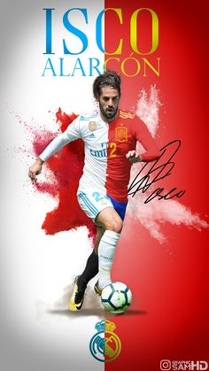 Isco Alarcon of Real Madrid & Spain wallpaper. Football Images, Football Love, Football Soccer, Isco Real Madrid, Equipe Real Madrid, Isco Alarcon, Santiago Bernabeu, Real Madrid Players, Russia 2018