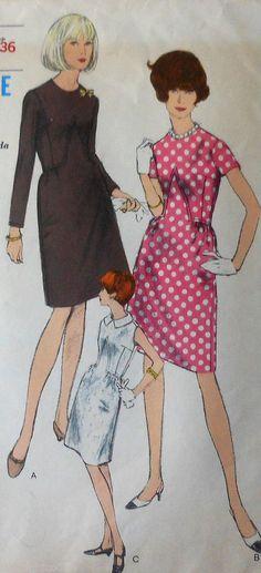 Vintage Vogue Dress Sewing Pattern