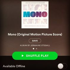 @monomovie original score now on @spotify #spotify #mono #gotmono score by #jermainestegall by @jermainestegall watch the film on @netflix #netflix #netflixandchill and @itunes #itunes #music @applemusic #applemusic @foxdigitalstudio