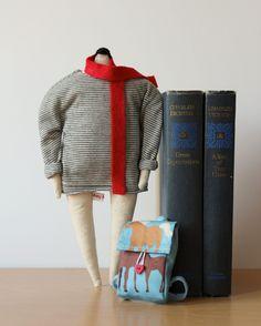 Suzie - Soft Sculpture Doll - Amy Victoria Marsh