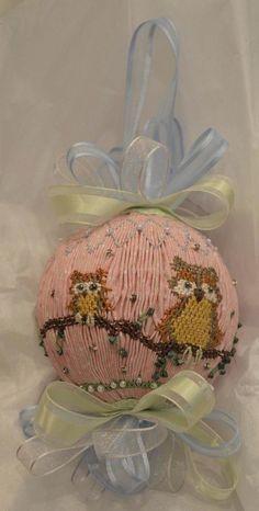 American Handmade English Smocked Ornament by grandcruefarm, $49.95