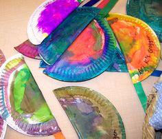 Easy paper plate groggers