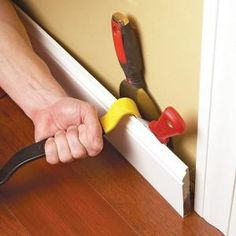 How to Remove Wood Trim-If you want to remove wood trim or baseboard, read these tips to avoid denting the wall or cracking the trim in the process. You'll avoid the additional hassle of having to repair a damaged wall.