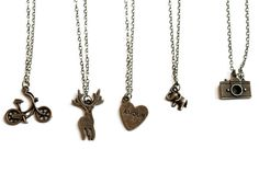 Metal Charm Necklaces - Just $4.99! - http://www.pinchingyourpennies.com/metal-charm-necklaces-just-4-99/ #Charmnecklaces, #Pickyourplum, #Pinchingyourpennies