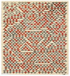 Anni Albers,Study for Camino Real, 1967