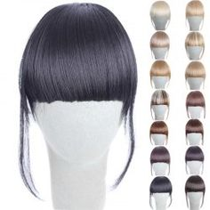 SHARE & Get it FREE | Fashion Clip In Synthetic 14 Colors Front Full Bang With Sideburns For WomenFor Fashion Lovers only:80,000+ Items • New Arrivals Daily • Affordable Casual to Chic for Every Occasion Join Sammydress: Get YOUR $50 NOW!