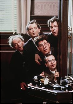 S.O.S. Fantômes : Photo Bill Murray, Dan Aykroyd, Harold Ramis, Rick Moranis