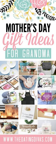 Mother's Day Gifts for Grandma #giftforher #mothersday