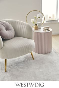 Accent Decor, Accent Chairs, Pantone, Armchair, Ottoman, Modern, Living Room, Interior Design, Table