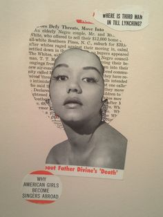 One of Lorna Simpson's most iconic pieces. This is because  the writing give the image a different meaning