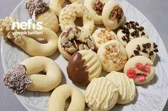 Tek Hamurla Çesitli Kurabiyeler Tarifi nasıl yapılır? 5.244 kişinin defterindeki bu tarifin detaylı anlatımı ve deneyenlerin fotoğrafları burada. Doughnut, Tart, Desserts, Crack Crackers, Kitchen, Cakes, Baking, Tailgate Desserts, Pie